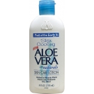Fruit of the Earth Aloe Vera Skin Care Lotion - 4oz Bottle