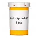 Felodipine ER 5mg Tablets (Generic Plendil)