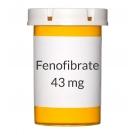 Fenofibrate 43mg Capsules (Generic Antara)