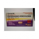 Fexofenadine 180mg Tablet- 90ct (Major)