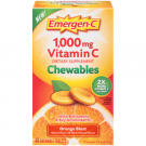 Emergen-C Chewables, Orange Blast, 40 Count