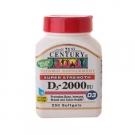 21st Century Super Strength D3 - Fast Release 2,000 Iu 250 Softgels