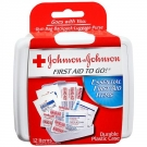 Johnson & Johnson Red Cross First Aid Kit