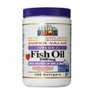 21st Century Omega-3 Fish Oil 1000mg Softgel - 300ct