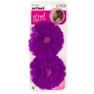 Scünci Girl Flower Salon Clip- 2ct- 3 Packs