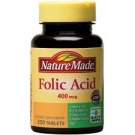 Nature Made Folic Acid 400 mcg - 250ct