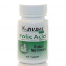 Folic Acid 400mcg Tablets -  100 Count Bottle