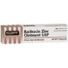 Fougera Bacitracin Zinc Ointment USP  - 4 oz Tube