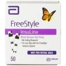 FreeStyle Insulinx Blood Glucose Test Strip- 50ct