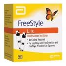 FreeStyle Lite Diabetic Test Strips - 50 Strips