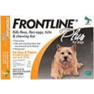 Frontline Plus for Dogs (up to 22 lbs) - 3 Month Pack(Orange)