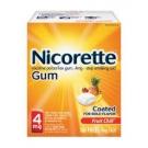 Nicorette Gum, 4mg, Fruit Chill- 100ct