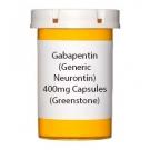 Gabapentin (Generic Neurontin) 400mg Capsules (Greenstone)