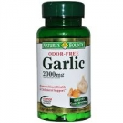 Nature's Bounty Odorless Garlic Tablets, 2000mg- 120ct