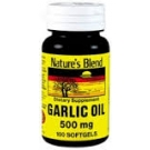 Nature's Bounty Garlic Oil Softgels, 500mg- 100ct