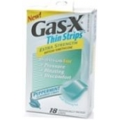 Gas-X Thin Strips Antigas Peppermint - 18ct