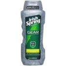 Irish Spring Gear Body Wash Exfoliating - 18 oz