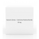 Generic Zyrtec - Cetirizine Hydrochloride (10mg) - 100 Tablets (Apotex)