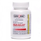 Gericare Pain Relief 325 Mg Strength Tablet 100 ct