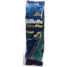 Gillette Custom Plus Disposable Razors - 10