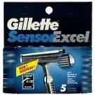 Gillette Sensor Excel Blades 5ct