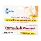 Globe Vitamin A + D Diaper Rash Ointment - 0.5 oz