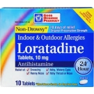 GNP Loratadine 24HR 10mg Tablets- 40ct