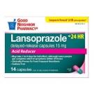 GNP Lansoprazole 15mg Acid Reducer Capsules- 28ct