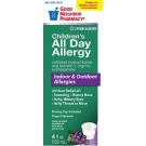 GNP Children's Allergy All Day Grape Flavored Syrup- 4oz