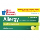 GNP® 4mg Allergy Tablets- 100ct