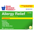 GNP 4 Hour Allergy Relief 24 Tablets