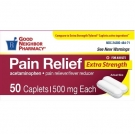 Good Neighbor Pharmacy Acetaminophen Extra Strength 500mg Caplets-50ct