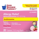GNP Children's Allergy Chewables, Cherry, 20 Tablets