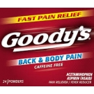 Goody's Back & Body Pain Powders - 24ct