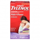 Infants' TYLENOL Acetaminophen Oral Suspension, Grape- 1oz