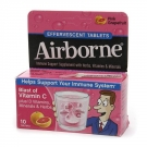 Airborne Health Formula Effervescent Tablets, Pink Grapefruit- 10ct