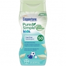 Coppertone Pure & Simple Kids Sunscreen Lotion Spf 50 6 fl oz