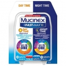 Mucinex Fast-Max Adult Day and Night Caplets, 30ct