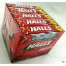 Halls Cherry Advanced Vapor Action Cough Suppressant Drops - 9ct/20pack