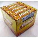 Halls Honey-Lemon Advanced Vapor Action Cough Suppressant Drops - 9ct/20 Pack