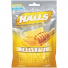 Halls Sugar Free Honey-Lemon Menthol Cough Suppressant Drops - 25ct