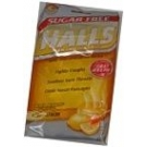 Halls Mentho-Lyptus Drops Sugar Free Honey-Lemon 25 ct