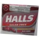 Halls Mentho-Lyptus Sugar Free Drops  Black Cherry  9 ea/ 20 pack