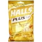 Halls Plus Honey/Lemon Menthol Center Cough Drops, 25ct