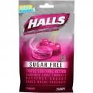 Halls Mentho-Lyptus Sugar Free Vapor Action Formula Black Cherry Flavor 25ct