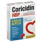 Coricidin HBP Cold & Flu Tablets - 20ct