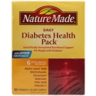 Nature Made Diabetes Health Pack- 30ct