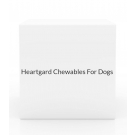 Heartgard Chewables For Dogs 51-100 lbs-6 Count Box(Brown)