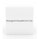 Heartgard Chewables For Cats 0-5 lbs-6 Count Box(Red)
