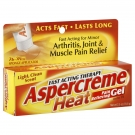 Aspercreme Heat Pain Relieving Gel- 2.5oz